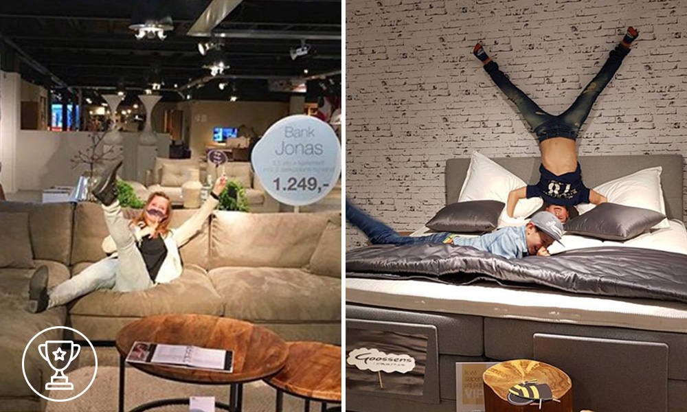 Winnaar bank en boxspring - VIP Night