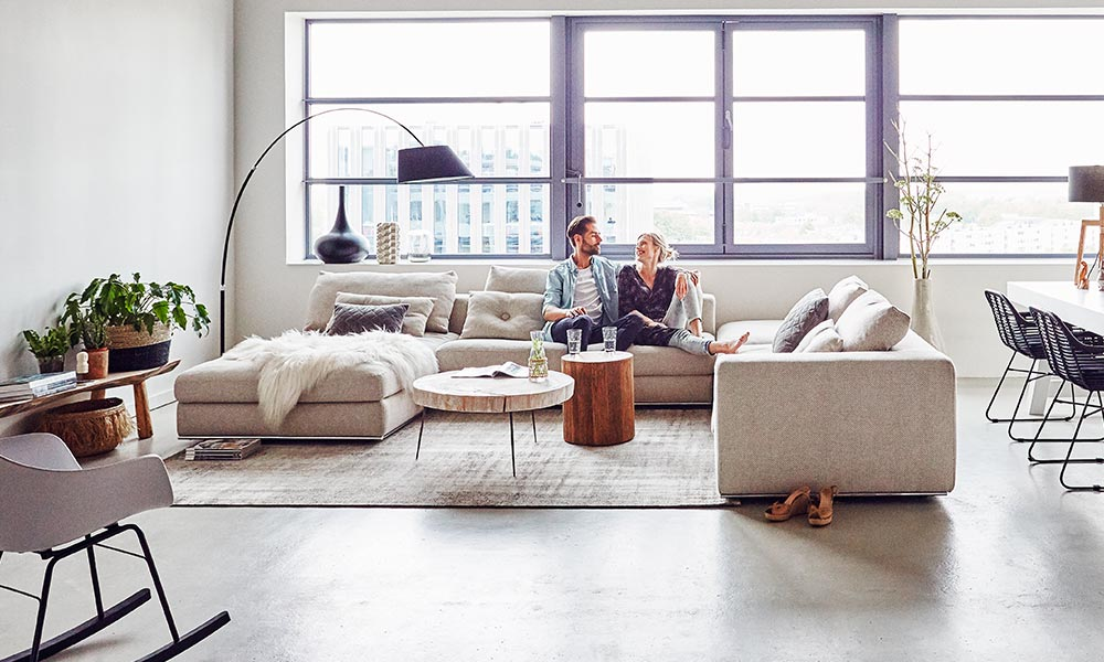 3x inspiratie voor een frisse woonkamer - Welkom bij Goossens Wonen ...