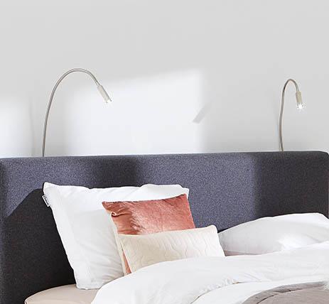 Bedverlichting, Bedden | Slapen - Welkom bij Goossens Wonen en Slapen