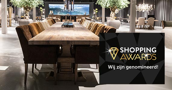 Goossens genomineerd voor de Shopping Awards 2019