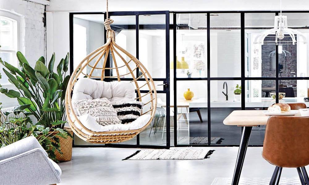 Design Hangstoel Binnen.5x Rotan Toppers Voor Binnen En Buiten Welkom Bij Goossens Wonen
