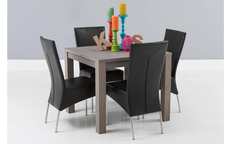 Tafel Grijs Eiken : Eettafel break grijs eiken kopen goossens meubelwinkel