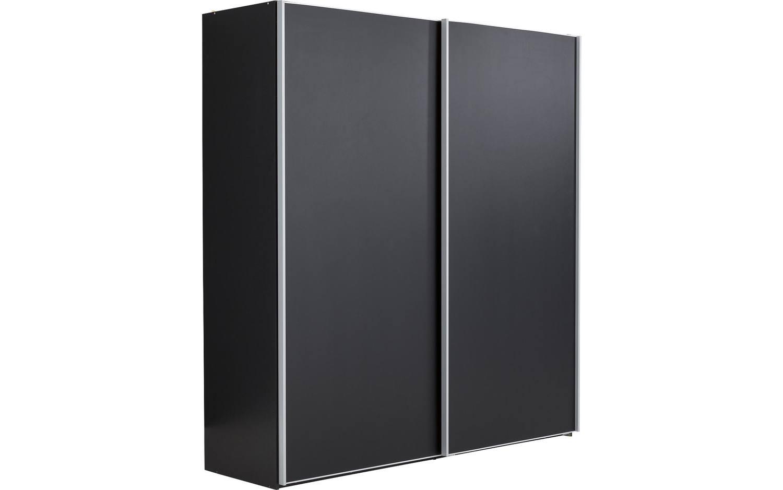 kledingkast clark zwart mdf kopen goossens meubelwinkel