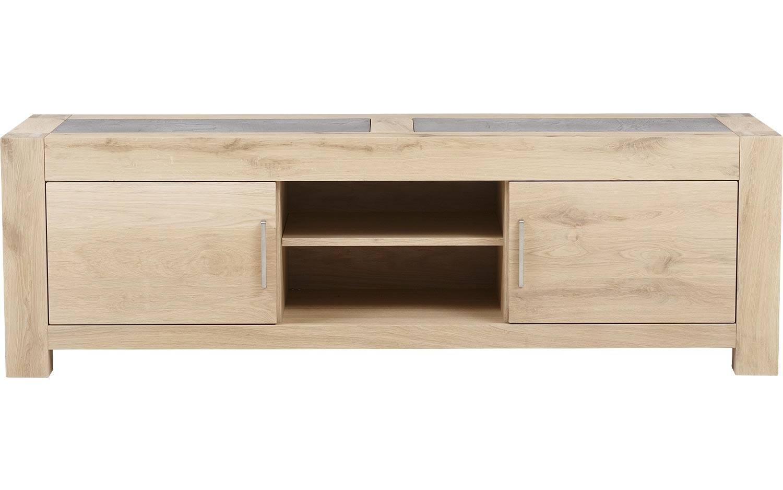 Lichtgrijs Eiken Meubels : Tv meubel jone onbewerkt eiken kopen goossens meubelwinkel