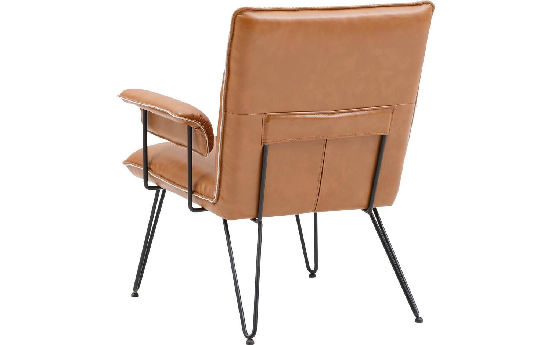 Fauteuil citta bruin kunstleer kopen goossens meubelwinkel for Citta design outlet
