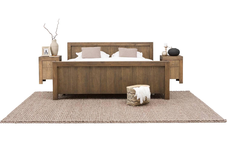 Ledikant uno grijs eiken kopen goossens meubelwinkel for Ledikant grijs