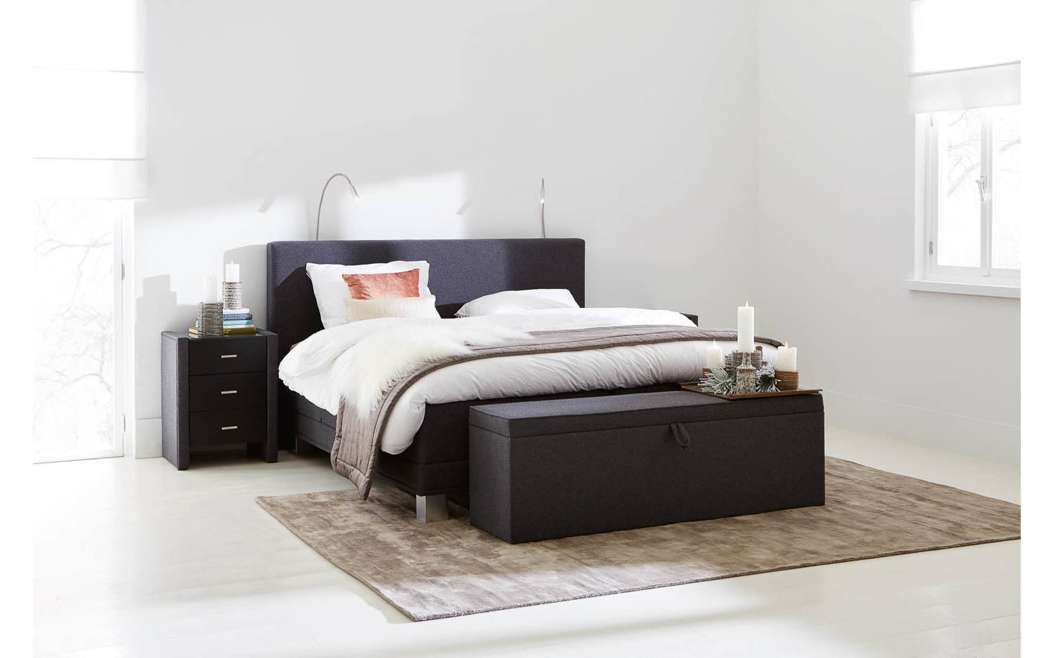 Boxspring Compleet Infinity 1