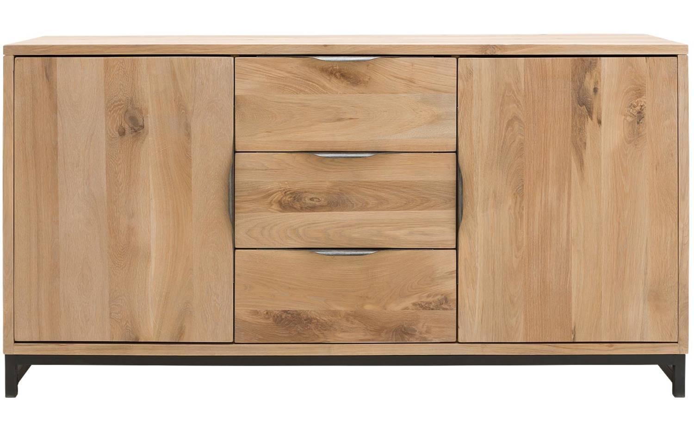 Dressoir max onbewerkt eiken kopen goossens meubelwinkel for Goossens meubelen