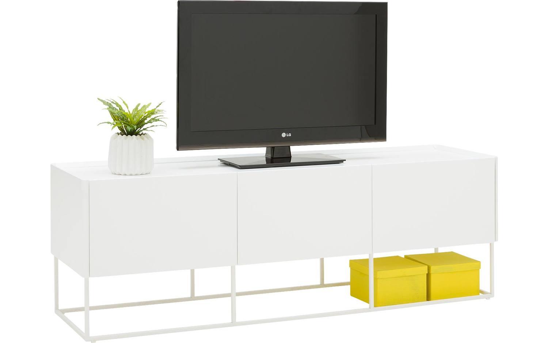 Witte Tv Meubel : Kelk mosgrau zwevend tv meubel wit tv kast met gratis verzending