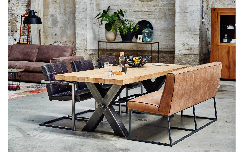 eetkamerstoel javan zwart leer kopen  goossens meubelwinkel