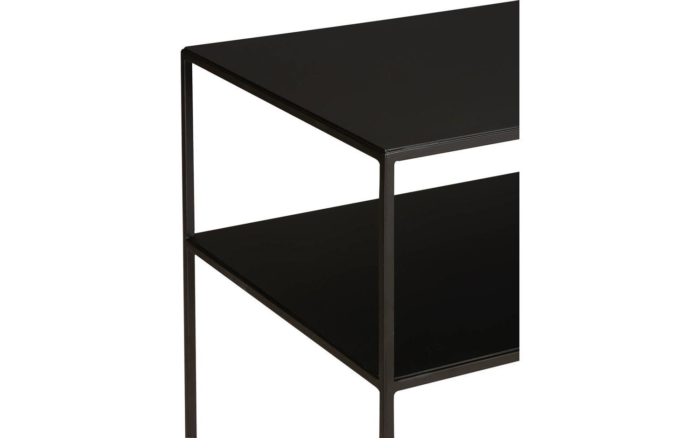 Grote Zwarte Sidetable.Sidetable Saar Zwart Metaal Kopen Goossens Meubelwinkel