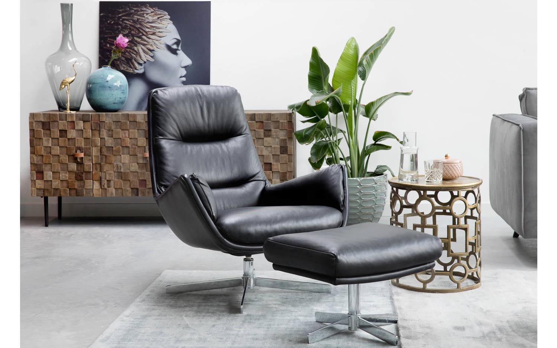Goossens Design Bank.Bijzettafel Marla Zwart Metaal Kopen Goossens Meubelwinkel