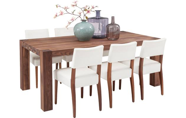 Eettafel timber noten noten - 8122076-01