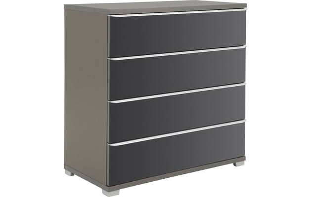 Ladekast rubin commode grijs mdf - 8130211-02