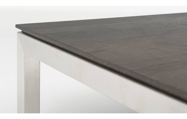 Goossens excellent salontafel air grijs eiken - 8130930-03