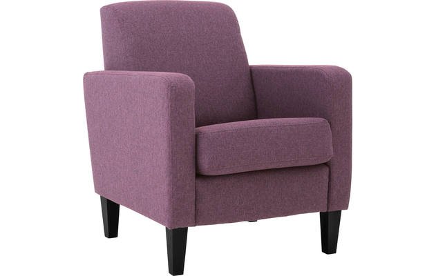 Fauteuil happy rood stof - 8131832-01