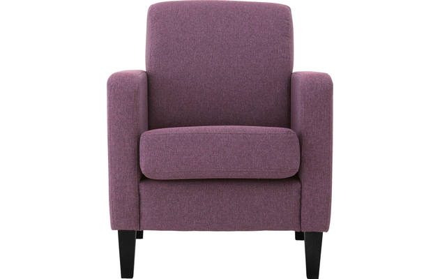 Fauteuil happy rood stof - 8131832-02