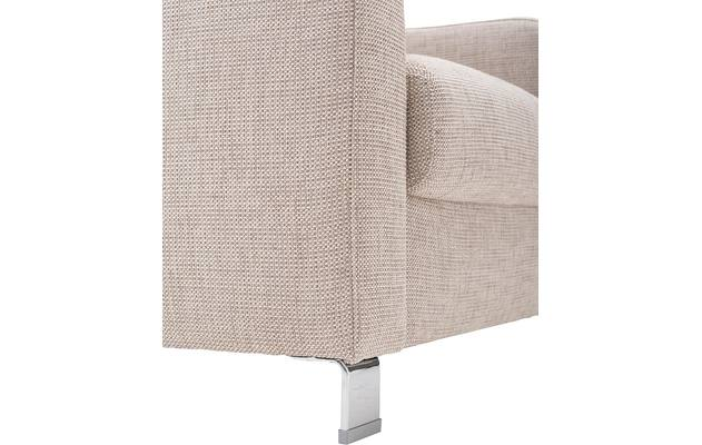 Fauteuil multiply bruin stof - 8140864-03