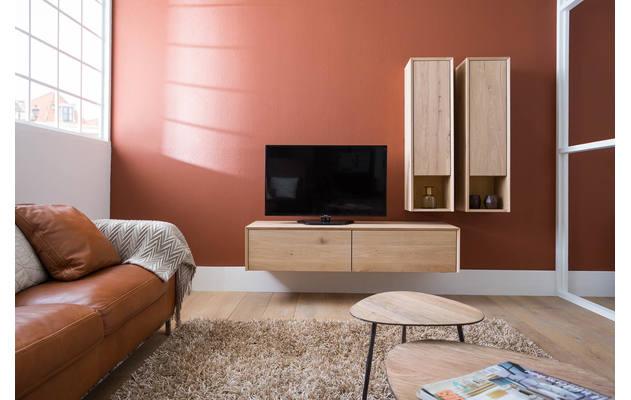 Dressoir luuk onbewerkt eiken kopen goossens meubelwinkel for Goossens meubelen