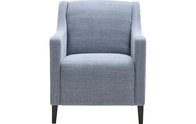 Fauteuil russell blauw stof - 8170292-02