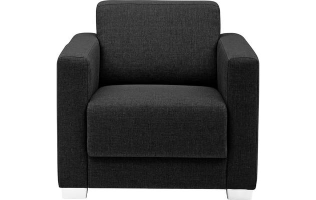 Fauteuil my style grijs stof - 8170943-02