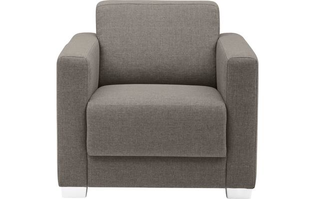 Fauteuil my style bruin stof - 8170946-02