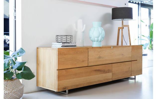 tv meubel quartz onbewerkt eiken kopen goossens meubelwinkel. Black Bedroom Furniture Sets. Home Design Ideas