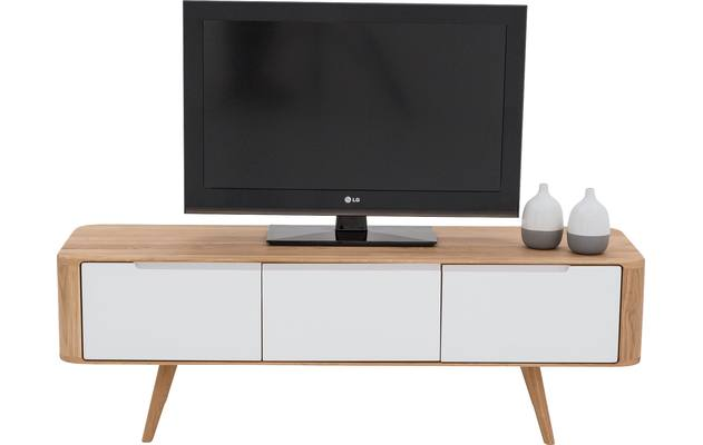 Tv meubel lodge blank eiken - 8180211-04