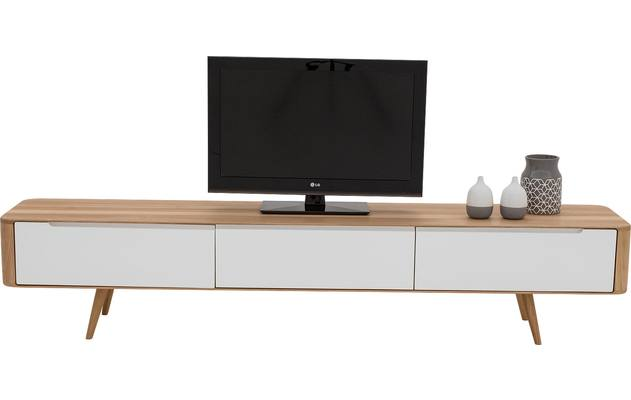 Tv meubel lodge blank eiken - 8180214-04