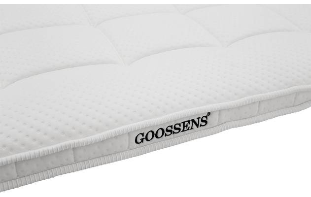 Goossens topdekmatras wellness latex wit matrastijk - 8181099-02