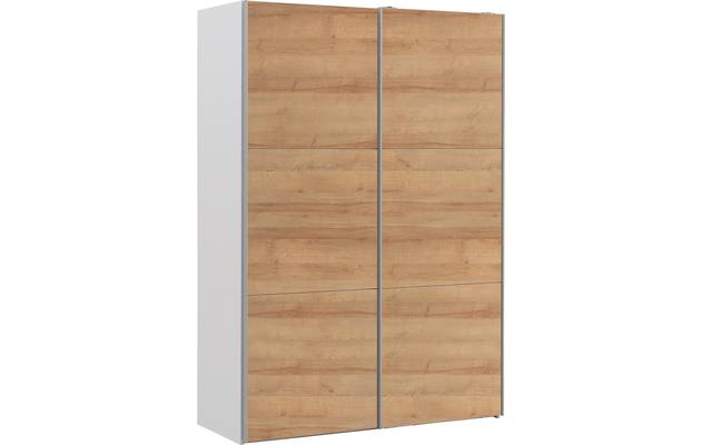 Kledingkast easy storage sdk wit mdf - 8190734-02