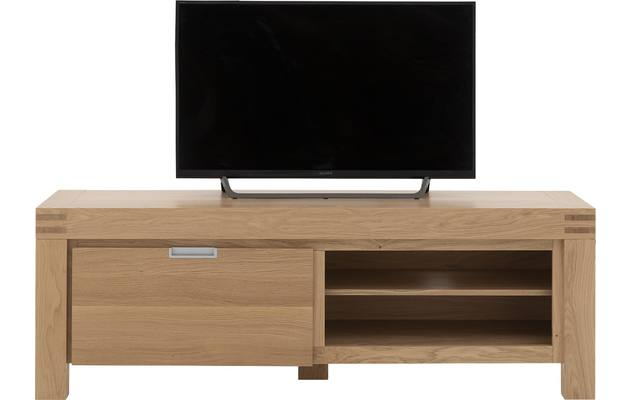Tv meubel clear blank eiken - 8191052-03